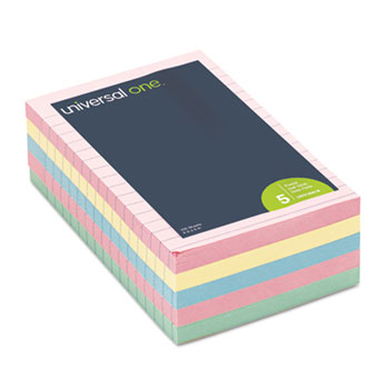Universal® Standard Self-Stick Pastel Color Note Pads Thumbnail