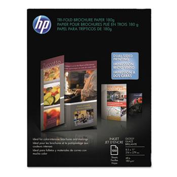 HP Inkjet Tri-Fold Brochure Paper Thumbnail