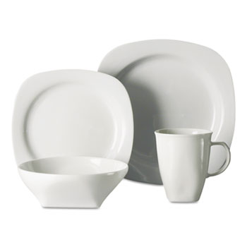 Office Settings Chef's Table Fine Porcelain Round Dinnerware Thumbnail