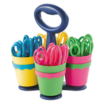 Westcott® Scissor Caddy with Kids' Scissors Thumbnail