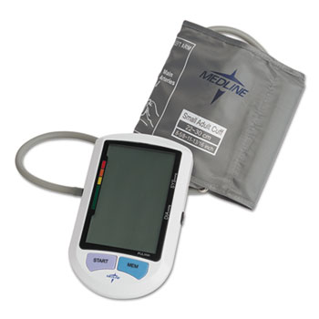 Medline Automatic Digital Upper Arm Blood Pressure Monitor Thumbnail