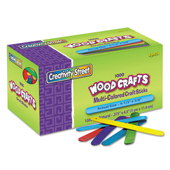 Chenille Kraft® Colored Wood Craft Sticks Thumbnail