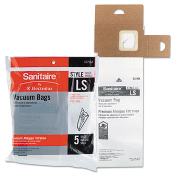 Electrolux Sanitaire® Disposable Dust Bags For Sanitaire® Commercial Upright Vacuums Thumbnail