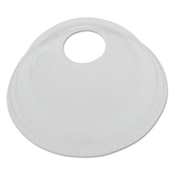 SOLO® Cup Company Ultra Clear™ Dome Cold Cup Lids Thumbnail