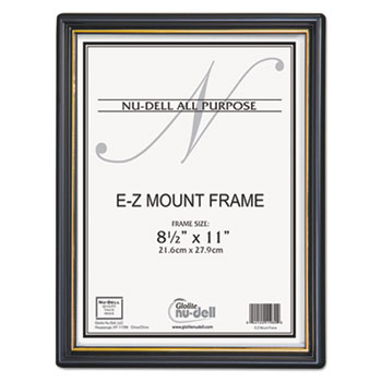 EZ Mount Document Frame with Trim Accent by NuDell™ NUD11880 ...