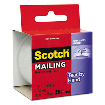 Scotch® Tear-By-Hand Packaging Tapes Thumbnail