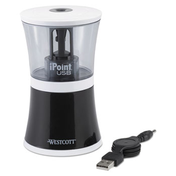 Westcott® iPoint® USB/Battery Operated Pencil Sharpener Thumbnail