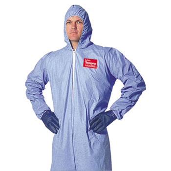DuPont® Tempro® Elastic-Cuff Hooded Coveralls Thumbnail