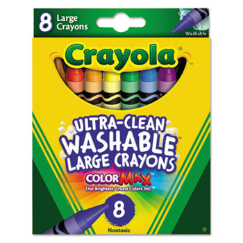 Crayola® Ultra-Clean Washable® Crayons Thumbnail