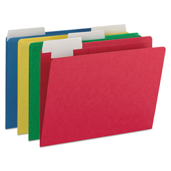 Smead® FlexiFolder™ Heavyweight Folders with Movable Tabs Thumbnail