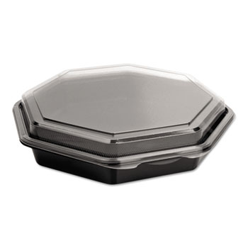 Dart® OctaView® Hinged-Lid Cold Food Containers Thumbnail