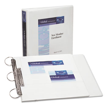 Avery® FlipBack™ 360° Durable View Binder with Round Rings Thumbnail