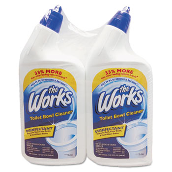 The Works® Disinfectant Toilet Bowl Cleaner Thumbnail
