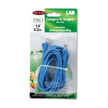 Belkin® CAT5e Patch Cables Thumbnail