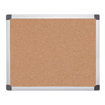 MasterVision® Value Cork Bulletin Board with Aluminum Frame Thumbnail
