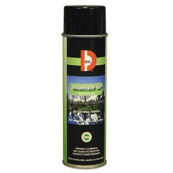 Big D Industries Aerosol Room Deodorant, Mountain Air Scent, 15 oz Can