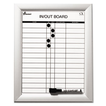 AbilityOne® Quartet® SKILCRAFT® Magnetic In Out Board Thumbnail