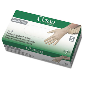Curad® Stretch-Vinyl Exam Gloves Thumbnail