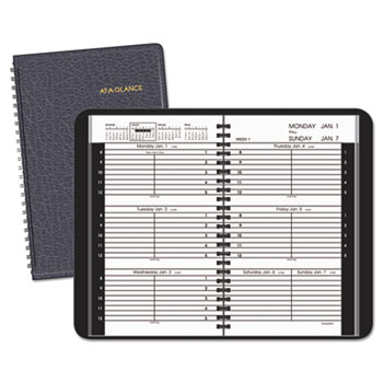 AT-A-GLANCE® Weekly Appointment Book Ruled for Hourly Appointments Thumbnail