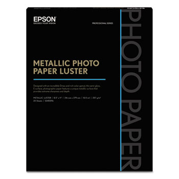 Epson® Professional Media Metallic Luster Photo Paper Thumbnail