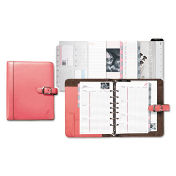 Day-Timer® Pink Ribbon Loose-Leaf Organizer Starter Set Thumbnail