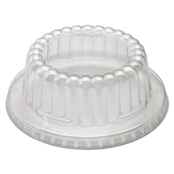 Dart® Flat-Top Dome PET Plastic Lids Thumbnail