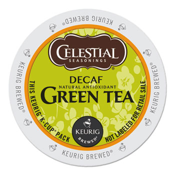 Celestial Seasonings® Decaffeinated Green Tea K-Cups® Thumbnail