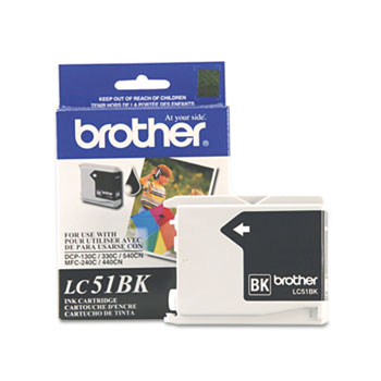 Brother LC51BK, LC51C, LC51HYBK, LC51M, LC51Y Ink Thumbnail