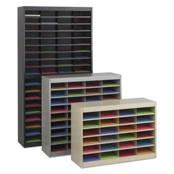 Safco® E-Z Stor® Literature Organizers with Steel Frames and Shelves Thumbnail