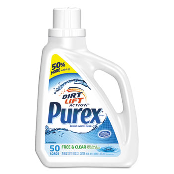 Purex® Free and Clear Liquid Laundry Detergent Thumbnail