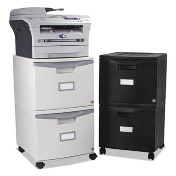 Storex Two-Drawer Mobile Filing Cabinet Thumbnail