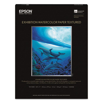 Epson® Exhibition Textured Watercolor Paper Thumbnail