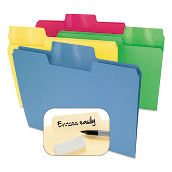 Smead® Erasable SuperTab® File Folders Thumbnail