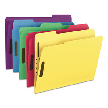 Smead® WaterShed®/CutLess® Reinforced Top Tab Fastener Folders Thumbnail