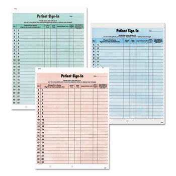 Tabbies® Patient Sign-In Label Forms Thumbnail