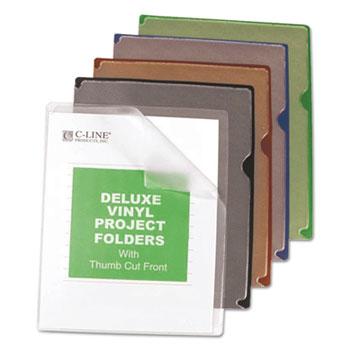 C-Line® Deluxe Vinyl Project Folders Thumbnail