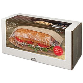 Bagcraft Dubl View® Sandwich Bags Thumbnail