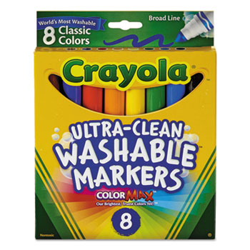 Crayola® Ultra-Clean Washable™ Classic Markers Thumbnail