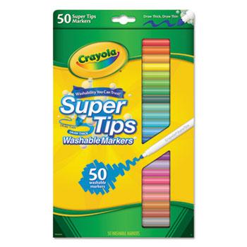 Crayola® Washable Super Tips Markers Thumbnail