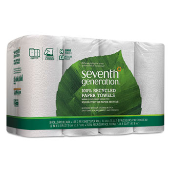 Seventh Generation® 100% Recycled Paper Towel Rolls Thumbnail
