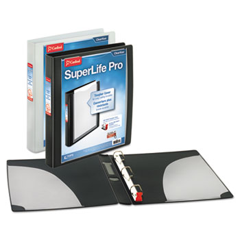 Cardinal® SuperLife™ Pro Easy Open® ClearVue™ Locking Slant-D® Ring Binder Thumbnail