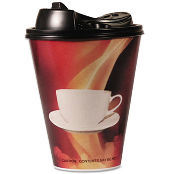 ENVELLOP™ Paper Wrapped Foam Hot Cups Thumbnail