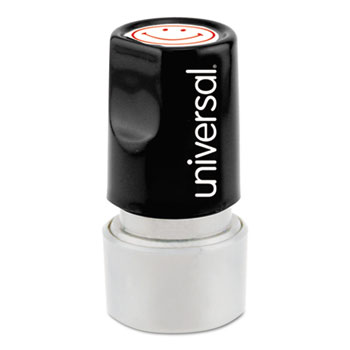 Universal® Pre-Inked One-Color Round Stamp Thumbnail