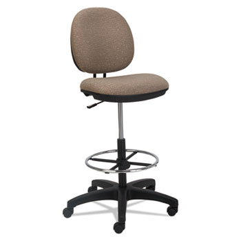 Alera® Interval Series Swivel Task Stool Thumbnail