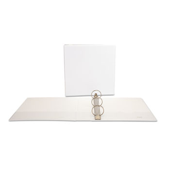 Deluxe Round Ring View Binder, 2