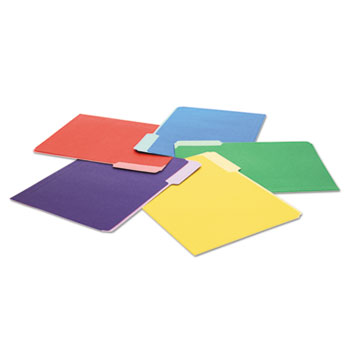 Universal® Deluxe Colored Top Tab File Folders Thumbnail