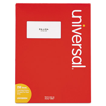 Universal® White Labels Thumbnail