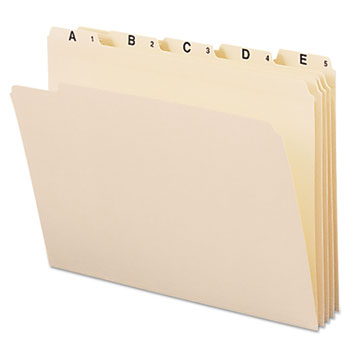 Smead® Indexed File Folder Sets Thumbnail