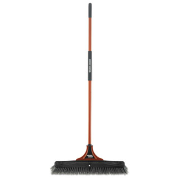 BLACK+DECKER Indoor/Outdoor Push Broom Thumbnail