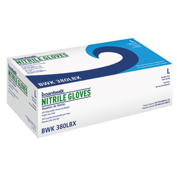Boardwalk® Disposable General-Purpose Nitrile Gloves Thumbnail